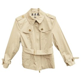 Burberry-mini Burberry t trench coat 40-Beige