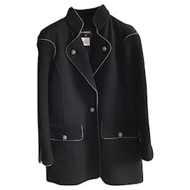 Chanel-Chanel coat paris salzburg 2015-Black
