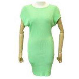 Chanel-new sleeveless dress-Green