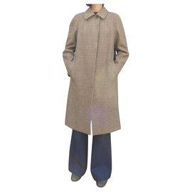 Burberry-vintage Burberry famme coat 40-Beige