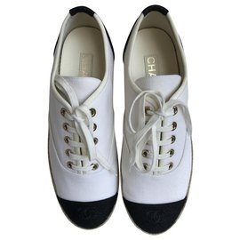 Chanel-Espadrilles-White