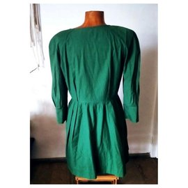 Dior-Robe verte Christian Dior-Vert foncé