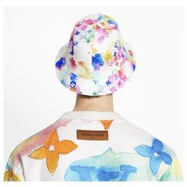 Louis Vuitton-MONOGRAM WATERCOLOUR BUCKET HAT-Multiple colors