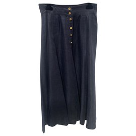 Chanel-Skirts-Navy blue