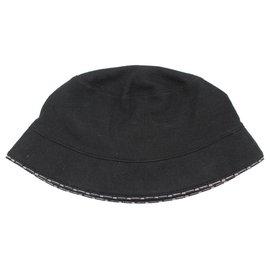 Chanel-Hats-Black