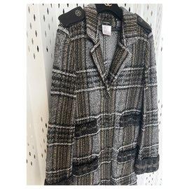 Chanel-metallic cardi coat-Multiple colors
