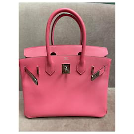 Hermès-Birkin 30-Rosa