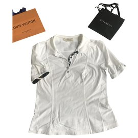 Burberry-Tops-Silvery,White