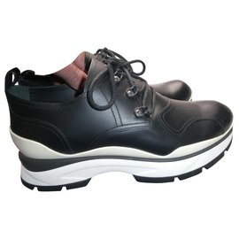 Louis Vuitton-louis vuitton derbies 7.5 Big shoe 42 New with box-Black