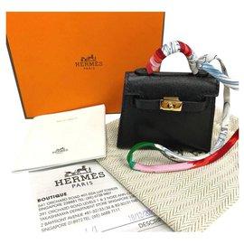 Hermès-Hermes Kelly bag charm-Black