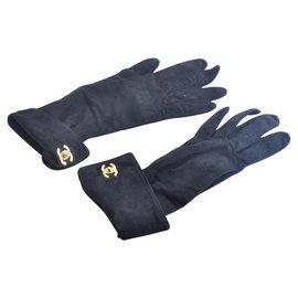 Chanel-Chanel Gloves-Black