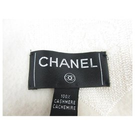 Chanel-Chanel scarf-Cream