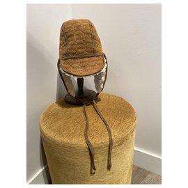 Chanel-Hats-Brown,Beige