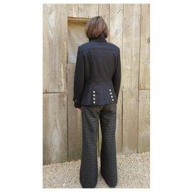 Burberry-Burberry short coat t 38/40 New condition-Dark brown