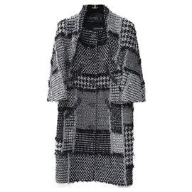 Chanel-Chanel Paris Dubai  15C $14K Coat-Grey