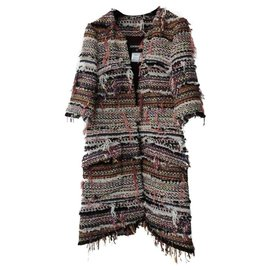 Chanel-Chanel Paris Dubai Fantasy Tweed Coat  Sz.38-Multiple colors
