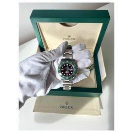 Rolex-ROLEX Unisex Submariner Date Starbucks 2021-Black,Silvery,Dark green