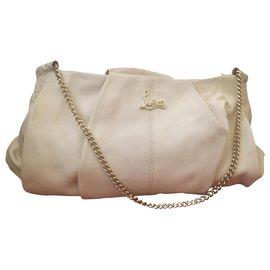 Christian Louboutin-Handbags-Beige