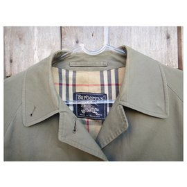 Burberry-Burberry woman raincoat vintage t 40-Khaki