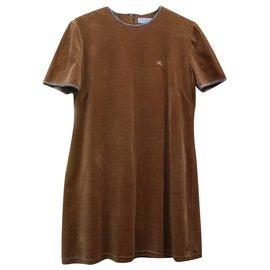 Burberry-Dresses-Brown