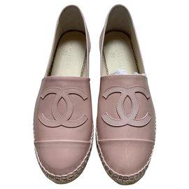 Chanel-Chanel espadrilles-Pink