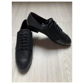 Chanel-Chanel derbies-Black