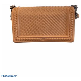 Chanel-Handbags-Peach