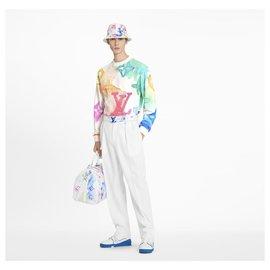 Louis Vuitton-WATERCOLOUR GIANT MONOGRAM SWEATSHIRT-Multiple colors