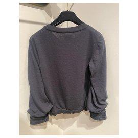 Chanel-Knitwear-Navy blue