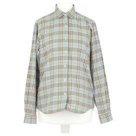 Burberry-Shirt-Light blue