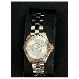Chanel-J12 chromatic diamond-Silvery