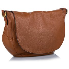 Mulberry-Mulberry Brown Effie Leather Satchel-Brown