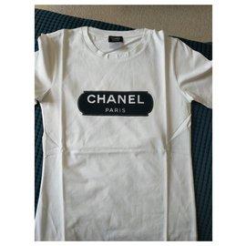 Chanel-Chanel Uniform t-shirt-White