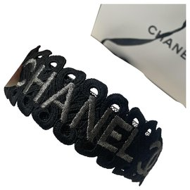 Chanel-Hair accessories-Black,Silvery