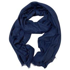 Chanel-CHANEL stole-Dark blue
