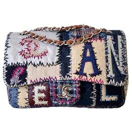 Chanel-CHANEL PATCHWORK BAG-Multiple colors