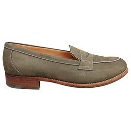 JM Weston-size JM Weston loafers 36 (3,5 UK)-Light green