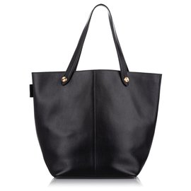 Mulberry-Mulberry Black Leather Tote Bag-Black