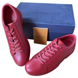 Louis Vuitton-Concorde Louis Vuitton sneakers-Red