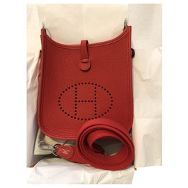 Hermès-Handbags-Red