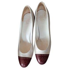 Christian Dior-Heels-Eggshell