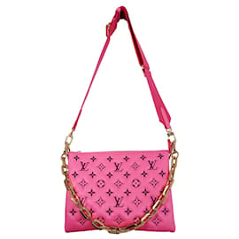 Louis Vuitton-Cushion bag PM pink Vuittamine-Pink