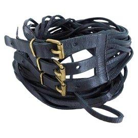 Chanel-Belt Multi Strap EUR 75 US 30 CCTL22-Black