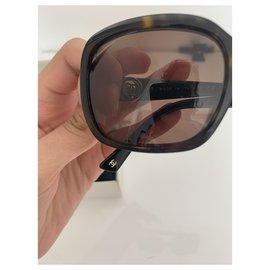 Chanel-Chanel vintage glasses-Brown