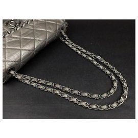 Chanel-Chain Around Flap-Silvery
