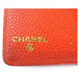 Chanel-Red Caviar Agenda Organizer Book-Other