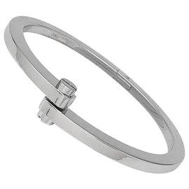 """Cartier-Bracelet Cartier """"Menottes"""" en or blanc.-Autre"""