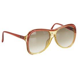 Dior-Lunettes de soleil teintées carrées Dior marron-Marron