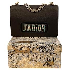 Christian Dior-Bolsa de ombro Dior J'ADIOR-Preto