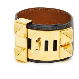 Hermès-MEDOR CDC DARK GRAY GOLDEN HDW S-Dark grey,Gold hardware
